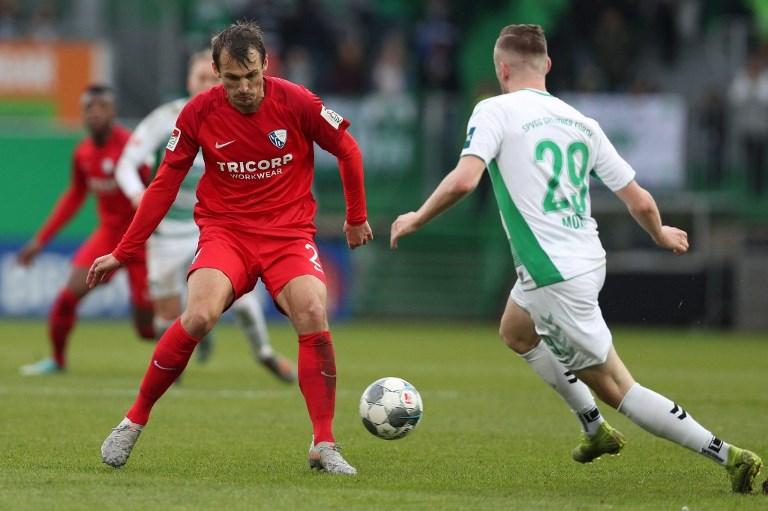 Furth, 07.12.2019, firo, football, 2.Bundesliga, season 2019/202