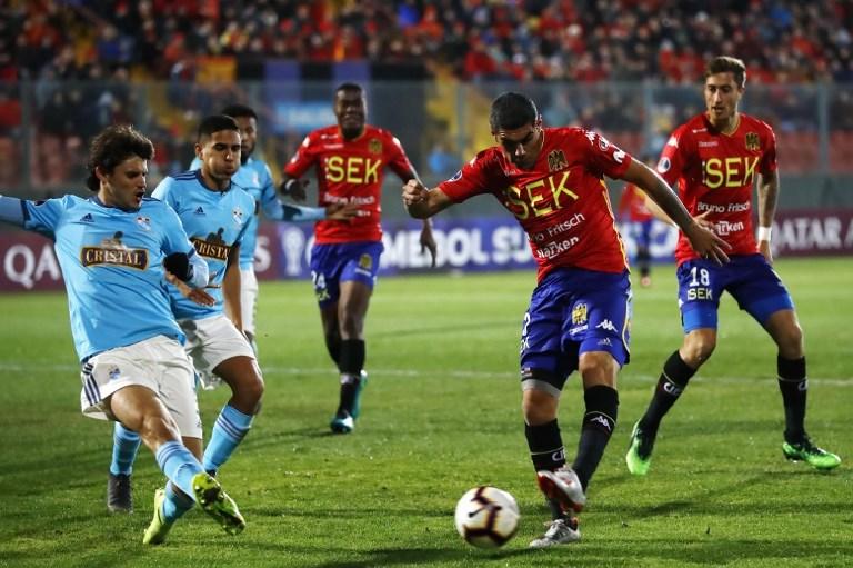 Union Espa–ola vs Sporting Cristal, Copa Sudamericana 2019.